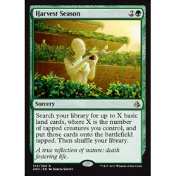 Saison des récoltes