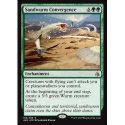 Convergence des guivres des sables