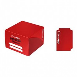 Ultra Pro - PRO Dual Standard Deck Box - Red