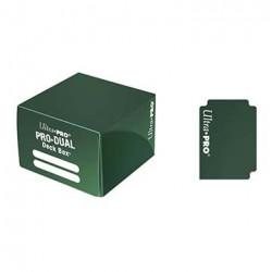 Ultra Pro - PRO Dual Standard Deck Box - Green