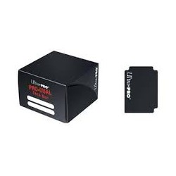 Ultra Pro - PRO Dual Standard Deck Box - Black
