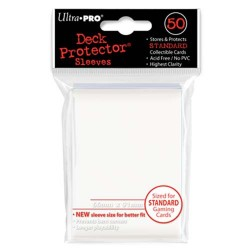 Ultra pro - Standard Deck Protectors 50ct Sleeves - White