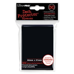 Ultra Pro - Standard 50 Sleeves - Black