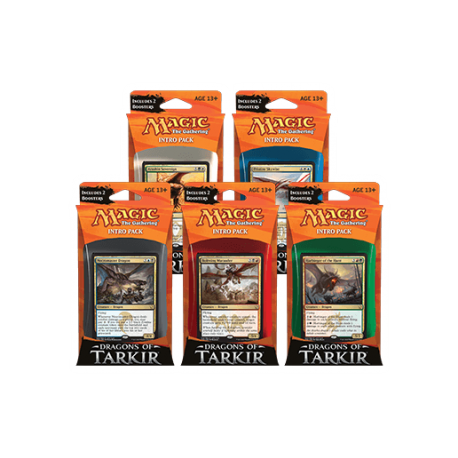 Pre-order - Dragons of Tarkir Intro Packs - All 5