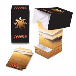 Ultra Pro - Mana 5 Deck Box with Tray - Plains