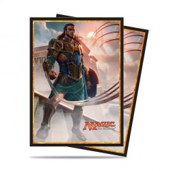 Ultra Pro - Amonkhet Standard Deck Protector 80ct Sleeves - Gideon