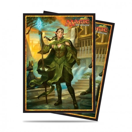 Ultra Pro - Amonkhet Standard Deck Protector 80ct Sleeves - Nissa