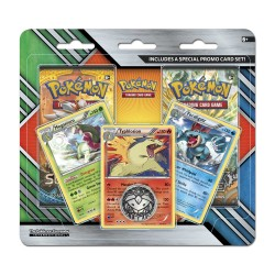 Pokemon - Enhanced 2 Pack Blister - Meganium + Typhlosion + Feraligatr  Promos