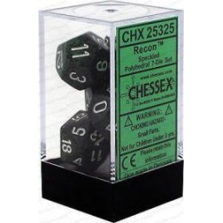 Chessex - Polyhedral 7-Die Set Speckled Dice - Recon