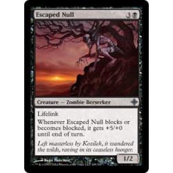 Escaped Null