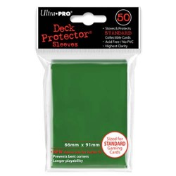Ultra Pro - Standard Deck Protectors 50ct Sleeves - Green