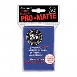 Ultra Pro - Pro-Matte Standard 50 Sleeves - Blue