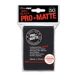 Ultra Pro - Pro-Matte Standard 50 Sleeves - Black