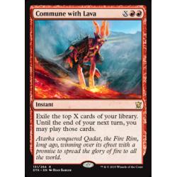 Zwiesprache mit der Lava