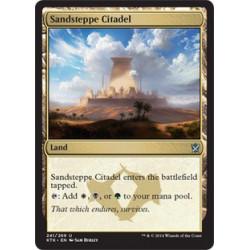 Citadelle de la steppe de sable
