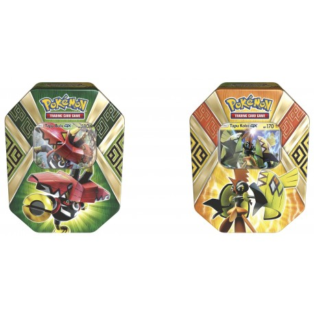 Pokemon - Summer Tin 2017: Legends of Alola Tin - Set (Tapu Bulu + Tapu Koko)