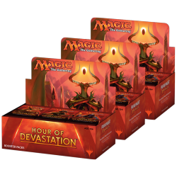 Lot de Boite de Boosters L'âge de la destruction (3x Booster Box)