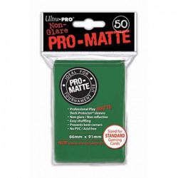 Ultra Pro - Pro-Matte Standard Deck Protectors 50pc Sleeves - Vert