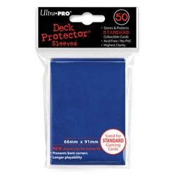 Ultra Pro - Standard Deck Protectors 50pc Sleeves - Bleu