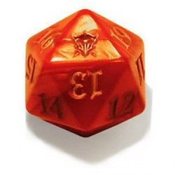 D20 Spindown Die - Dragons of Tarkir - Orange