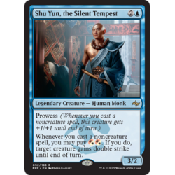 Shu Yun, the Silent Tempest