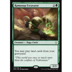 Excavatrice de Ramunap