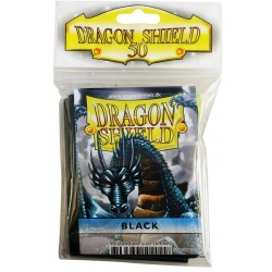 Dragon Shield - Black Sleeves, 50pc