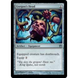 Tête de la gorgone
