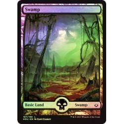 Swamp (Version 1) - Full Art Foil