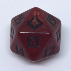 D20 Spindown Die - Hour of Devastation - Red