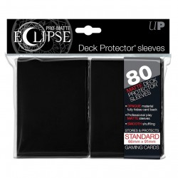Ultra Pro - Pro-Matte Eclipse Standard 80ct Sleeves - Black
