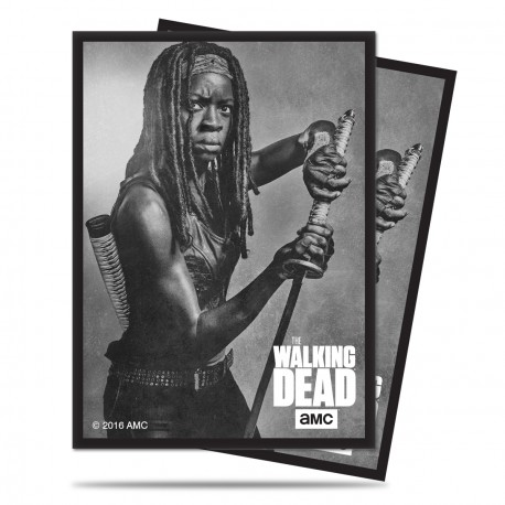 Ultra Pro - The Walking Dead 50ct Sleeves - Michonne