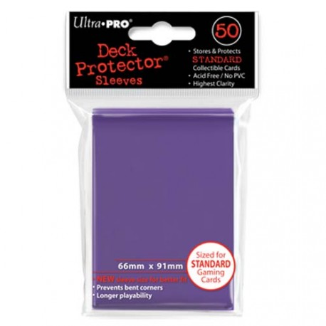 Ultra Pro - Standard Deck Protectors 50ct Sleeves - Violet