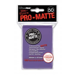 Ultra Pro - Pro-Matte Standard 50 Sleeves - Purple