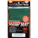 KMC - Hyper Mat Standard 80ct Sleeves - Green