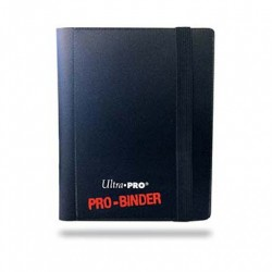 Ultra Pro - 2-Pocket PRO-Binder - Black