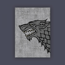 FFG Supply Sleeves - Game Of Thrones - House Stark (50 Sleeves)