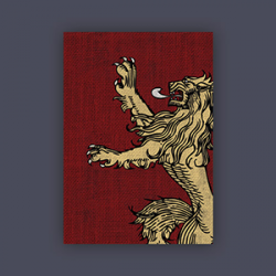 FFG Supply Sleeves - Game Of Thrones - House Lannister (50 Sleeves)