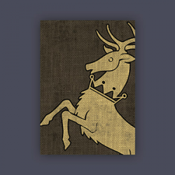 FFG Supply Sleeves - Game Of Thrones - House Baratheon (50 Sleeves)