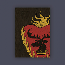 FFG Supply Sleeves - Game Of Thrones - House Stannis Baratheon (50 Sleeves)