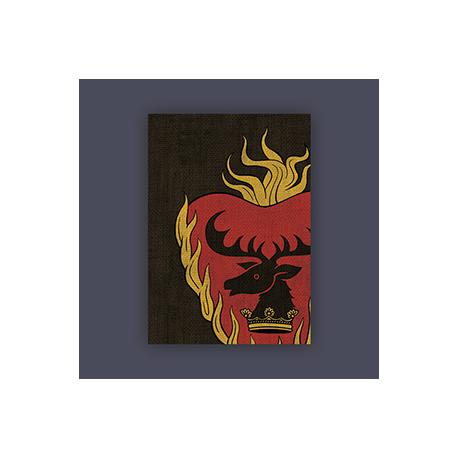 FFG Supply Sleeves - Game Of Thrones - House Stannis Baratheon (50 Sleeves)