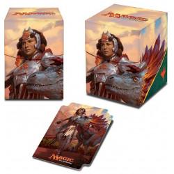 Ultra Pro - Ixalan Deck Box - Huatli, Warrior Poet