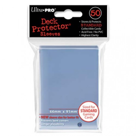 Ultra Pro - Standard Deck Protectors 50ct Sleeves - Clear