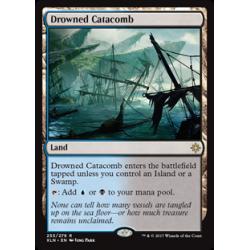 Catacombes noyées