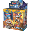 Pokemon - Sun and Moon Booster Box (36 Boosters) SLIGHTLY DAMAGED