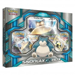 Pokemon - Snorlax GX Box