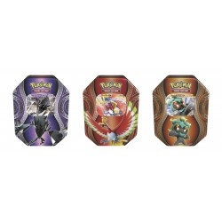 Pokemon - Mysterious Powers Tin - Set (Necrozma-GX + Ho-Oh-GX + Marshadow-GX)