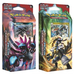 Pokemon - SM4 Crimson Invasion Theme Deck - Bundle (Hydreigon + Kommo-o)