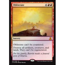 Obliterate - Foil