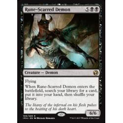 Démon scarifié de runes